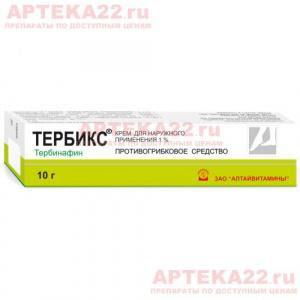 Тербикс крем 1% 10г